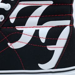 Tênis Vans Sk8 Hi Foo Fighters na internet