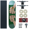 Kit Skate Montado AM I This Way Hand 100S Verde