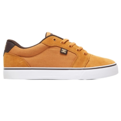 Tênis DC Shoes Anvil LA Brown