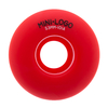 Roda Mini Logo Color Red 53MM
