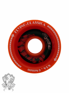 Roda Flying Wheels Classica Vermelha 68mm