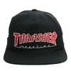 Boné Thrasher Mag Snapback Logo Red Black