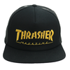 Boné Thrasher Mag Trucker Black Yellow Logo