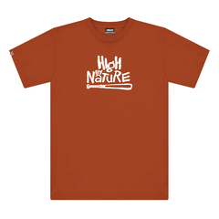 Camiseta High Drop 3 Nature Brick