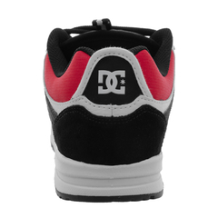 Tênis DC Shoes Kalis Lite Light Black Athletic Red White na internet