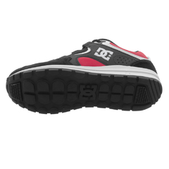 Tênis DC Shoes Kalis Lite Light Black Athletic Red White - Ratus Skate Shop