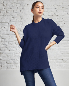 8706 / Sweater Oversize Punto Inglés - Switch Sweaters