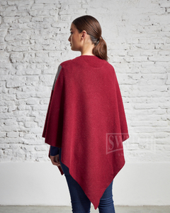 4902-R / Poncho Rombos - Switch Sweaters