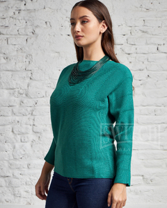 9046 / Sweater Cuello Redondo Tramado - Switch Sweaters