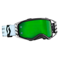 ÓCULOS SCOTT PROSPECT WHITE-BLACK/GREEN CHROME WORKS