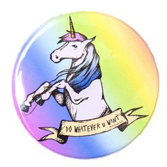 Botton Rebel Unicorn