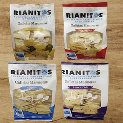 GALLETAS MARINERAS 190Gr. - RIANITOS