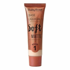 Base Líquida Soft Matte Nude - Ruby Rose
