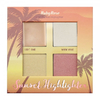Paleta Iluminador Sunset Highlighter Light - Ruby Rose