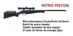 RIFLE CROSMAN CRUSHER CAL5,5 CCNP2SX (RI0795) en internet