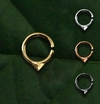 002 Piercing Septo Daith Triangular - Alvalek