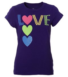 Camiseta infantil feminina The Children's Place Tutti Love