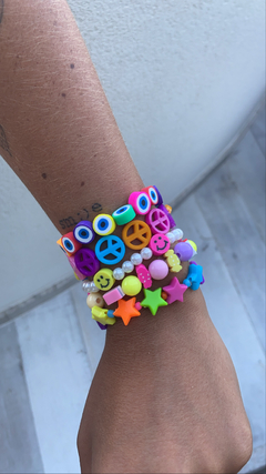 Pulseira Beads Peace - The Blend Shop