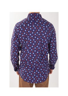 MARINE GREEK EYE PRINTED SHIRT - buy online