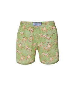 Kids Shorts Green Horse - buy online