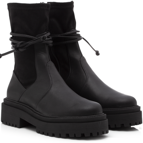 Bota Fitted Black