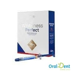 Gel Clareador Whitness Perfect 16% Mine Kit - comprar online