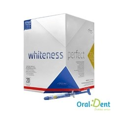 Gel Clareador Whitness Perfect 16% Kit 5 Seringas - comprar online