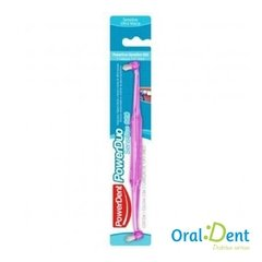 Escova Dental Powerdent PowerDuo 2 tufo Sensitive - comprar online
