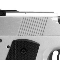 Imagem do PISTOLA DE AIRSOFT À GAS GREEN GAS 1911 MKIV70 SILVER FULL METAL BLOWBACK- ARMY
