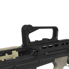 RIFLE DE AIRSOFT ELÉTRICO AEG R85A1 FULL METAL BLOWBACK 6MM - ARMY na internet