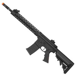 RIFLE DE AIRSOFT AEG M4 KEYMOD SPYDER 12.5 FULL METAL BLOWBACK 6MM - APS