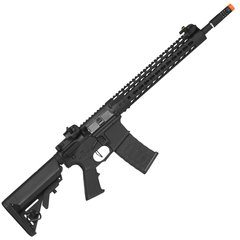 RIFLE DE AIRSOFT AEG M4 KEYMOD SPYDER 12.5 FULL METAL BLOWBACK 6MM - APS - comprar online