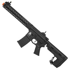 RIFLE DE AIRSOFT ELÉTRICO AEG M4 LPA R FULL METAL BLOWBACK 6MM - APS CONCEPTION