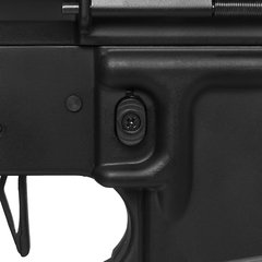 RIFLE DE AIRSOFT ELÉTRICO AEG M4 LPA R FULL METAL BLOWBACK 6MM - APS CONCEPTION - loja online