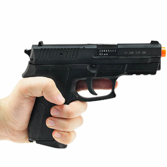 PISTOLA DE AIRGUN À GÁS CO2 SIG SAUER SP2022 SLIDE METAL GNB 4,5MM CYBERGUN - loja online