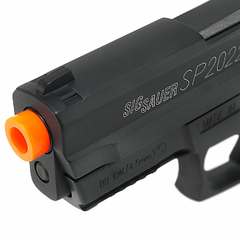 PISTOLA DE AIRGUN À GÁS CO2 SIG SAUER SP2022 SLIDE METAL GNB 4,5MM CYBERGUN