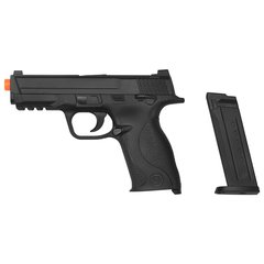 PISTOLA DE AIRSOFT SPRING MP40 G51 SLIDE METAL 6MM - GALAXY na internet