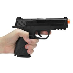 PISTOLA DE AIRSOFT SPRING MP40 G51 SLIDE METAL 6MM - GALAXY - loja online