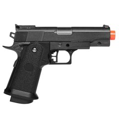 PISTOLA DE AIRSOFT SPRING G10 MODELO 1911 BABY FULL METAL 6MM - GALAXY