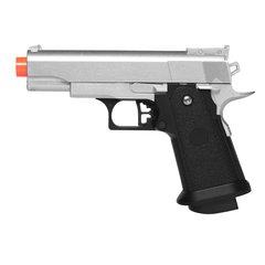 PISTOLA DE AIRSOFT SPRING G10S MODELO 1911 BABY FULL METAL 6MM - GALAXY