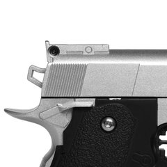 Imagem do PISTOLA DE AIRSOFT SPRING G10S MODELO 1911 BABY FULL METAL 6MM - GALAXY