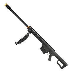 RIFLE DE AIRSOFT SPRING SNIPER BARRETT M82A1.50 6 MM - GALAXY na internet