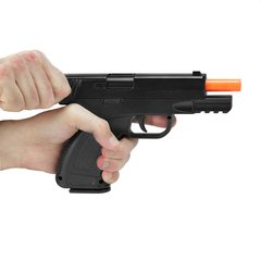 Imagem do PISTOLA DE AIRSOFT SPRING G39 FULL METAL 6MM - GALAXY