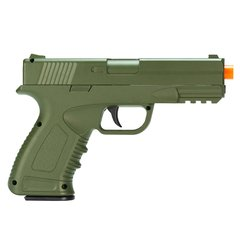 PISTOLA DE AIRSOFT SPRING G39G GREEN FULL METAL 6MM - GALAXY - comprar online