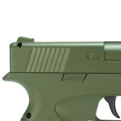 Imagem do PISTOLA DE AIRSOFT SPRING G39G GREEN FULL METAL 6MM - GALAXY