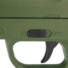 PISTOLA DE AIRSOFT SPRING G39G GREEN FULL METAL 6MM - GALAXY