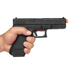 PISTOLA DE AIRSOFT À GÁS GBB GREEN GÁS G18C BLOWBACK 6MM - KSC na internet