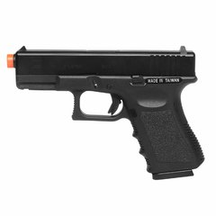 PISTOLA DE AIRSOFT À GÁS GBB GREEN GÁS G19 BLOWBACK 6MM - KSC