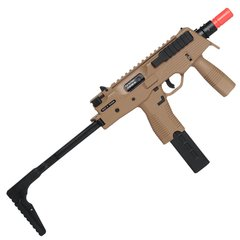 RIFLE DE AIRSOFT À GÁS GBB MP9 GREEN GÁS RANGER GREY BLOWBACK 6MM - KSC - comprar online
