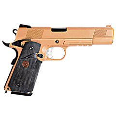 PISTOLA DE AIRSOFT À GÁS GBB GREEN GÁS 1911 MEU TAN FULL METAL BLOWBACK 6MM - WE - comprar online